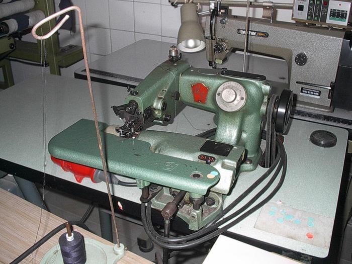 Gebraucht Blindstichmaschine US  Kl. 718 - 2-1, 1-1