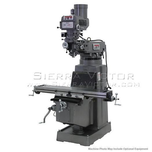 JET JTM-1050 Mill With 3-Axis ACU-RITE G-2 MILLPWR CNC, 690940
