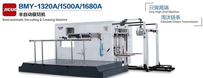Semi-automatic Die-cutting & Creasing Machine