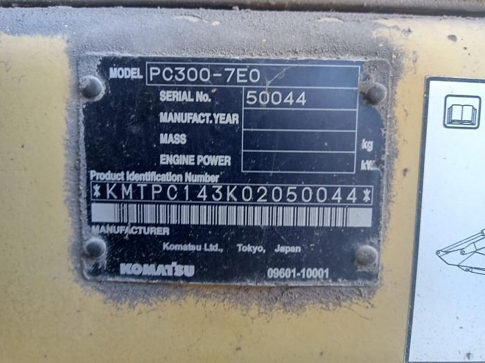 2006 KOMATSU PC300-7 LCEO