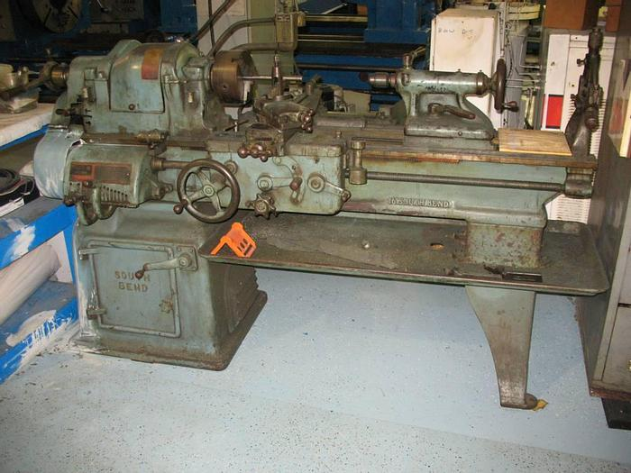 """Used 1949 South Bend 16"""" Type A Precision Lathe"""