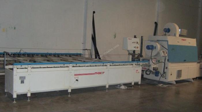 Used Makor UV Line for Mouldings