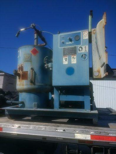 Used Quincy 490 dual screw compressor 100hp