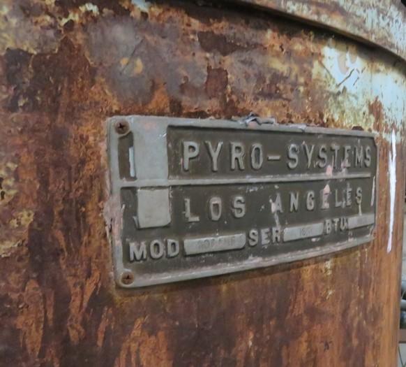 PYRO - SYSTEMS 600 AMF  MELTING FURNACE