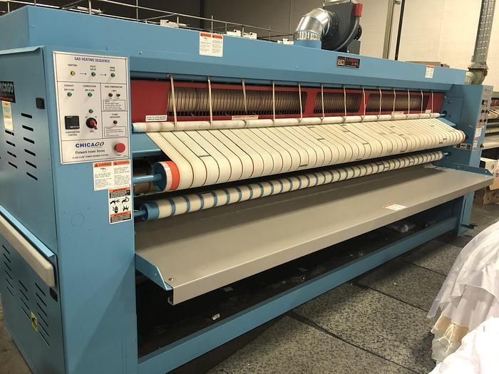 Used 2018 CHICAGO LASER 24X136 GAS IRONER