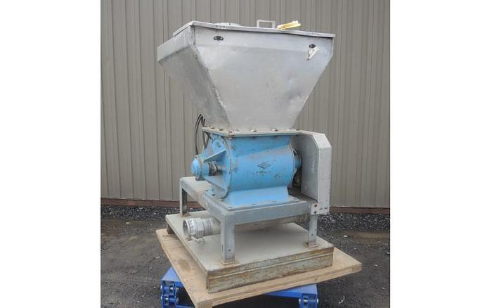 """USED ROTARY AIR LOCK VALVE, SIZE: 16"""" X 14"""", CARBON STEEL"""