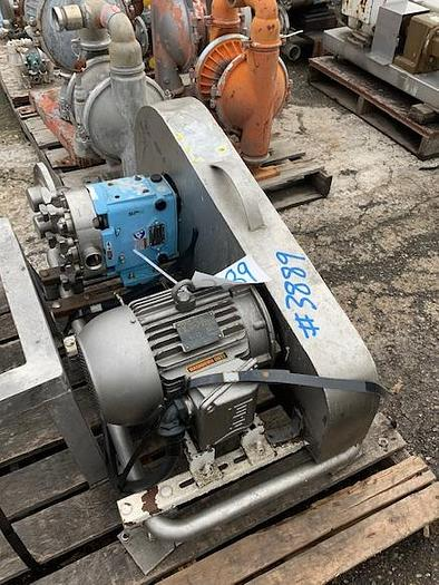 Waukesha Model 030-U1 Positive Displacement Pump