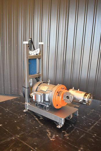 Used USED IKA DR3-6/6 DISPAX REACTOR/HOMOGENIZER, STAINLESS STEEL, JACKETED