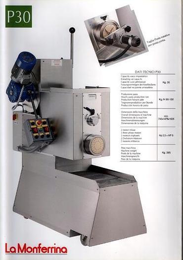 Używane Urządzenie do produkcji makaronu La Monferrina P 30