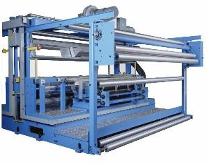 """Used 124"""" gearless 2 color in-line flexographic printing press"""