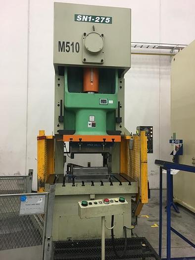 Used 275 ton SEYI Gap Frame Press