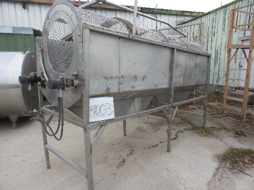 Rotary Dirt Removal Reel/Washer