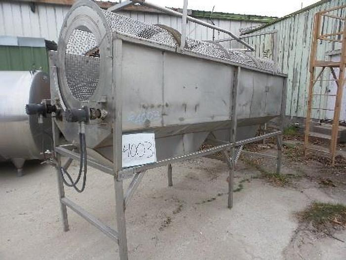 Used Rotary Dirt Removal Reel/Washer