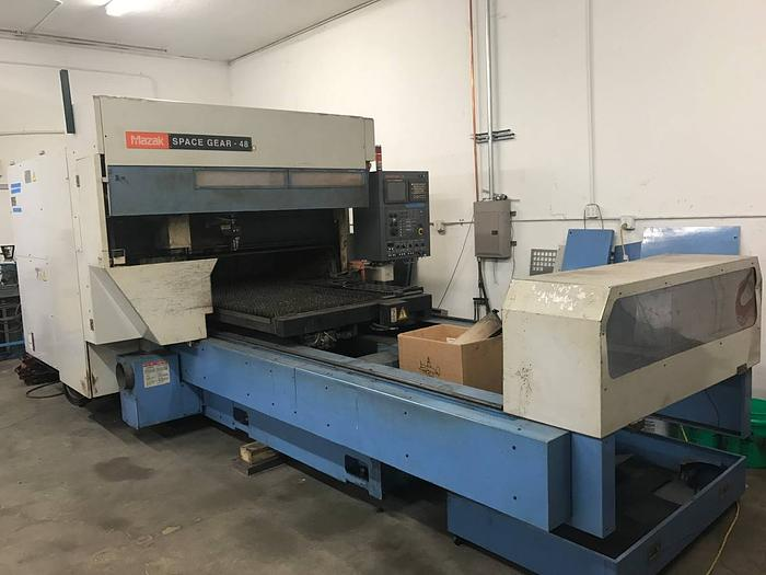 MAZAK SPACE GEAR 48 LASER CNC
