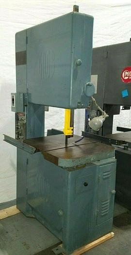 """Used Grob 24"""" Metal Band Saw Bandsaw with Welder & Table Feed in Great Condition!"""