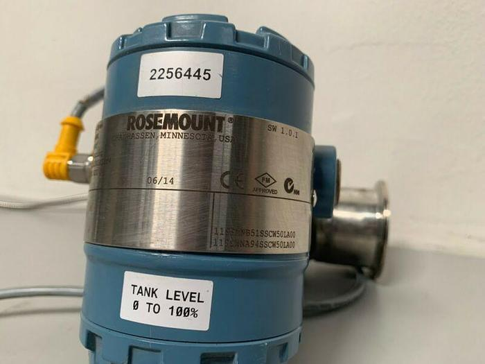 "Used Rosemount 2051CD2A22A1AS2M4 Pressure Transmitter W/ 27"" Emerson"