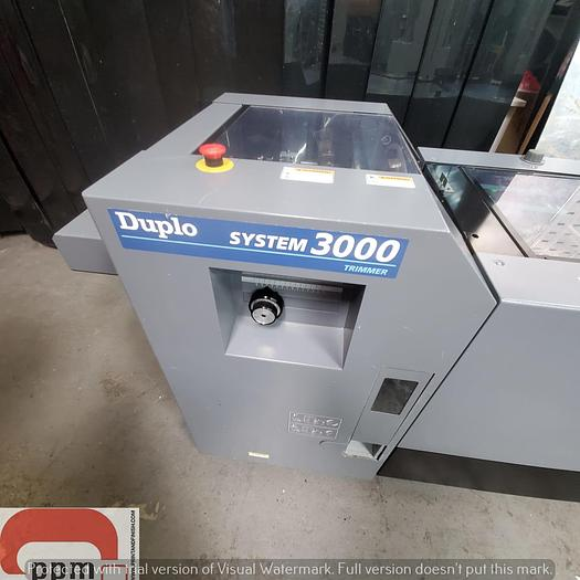 Used Duplo 5000 Twin Tower with 3000 system - Collator, Bookletmaker and Trimmer