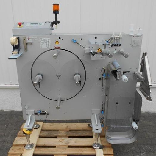 Used M 12881 D - Label Reel Splicing System SCHLEUTER FS/R