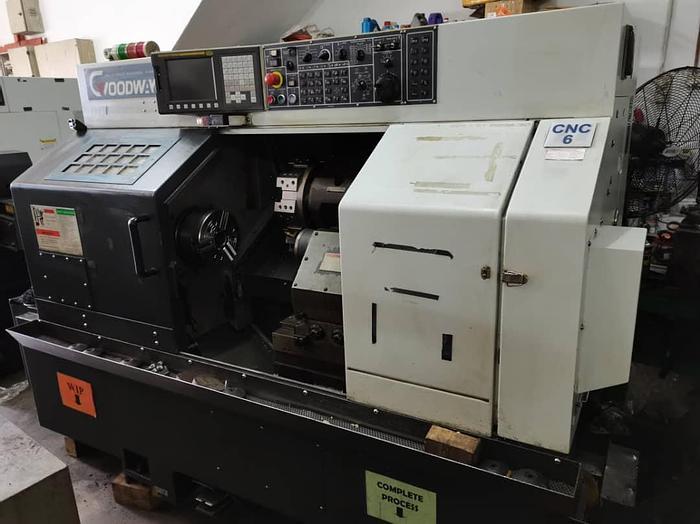 Used 2014 GOODWAY GCL-2BL CNC LATHE TURNING MACHINE