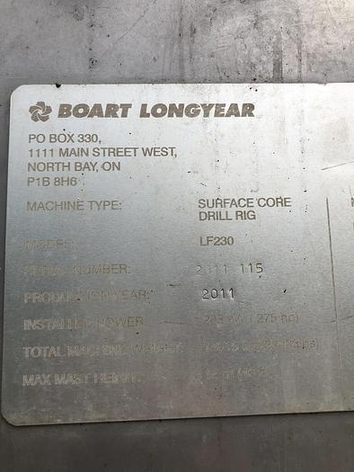 2008 Boart Longyear Seco LF230