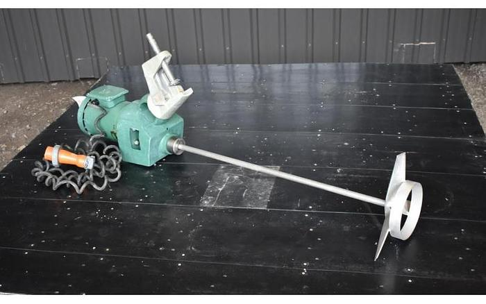 USED LIGHTNIN XJ CLAMP-ON MIXER, 1 HP