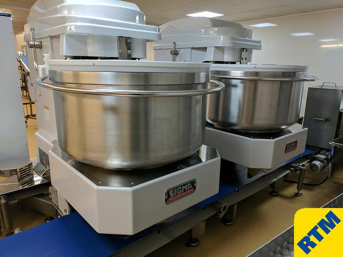 Used (2) SPIRAL MIXERS