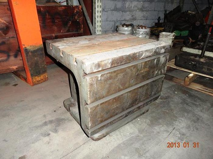 "Used 20"" X 24"" T-SLOTTED BOX TABLE"