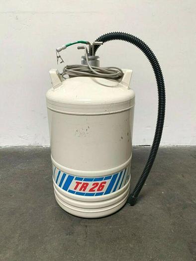 Used Air Liquide TR26 Liquid Nitrogen Dewar Container