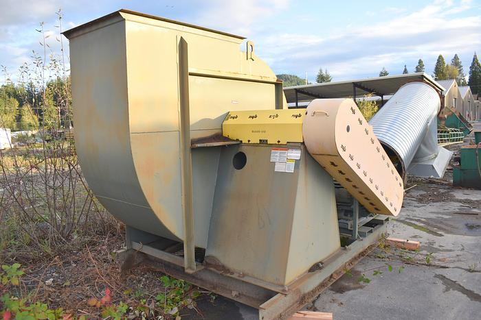 """Used 150hp New York Blower fan, 46,000 cfm at 15""""sp NYB blower"""