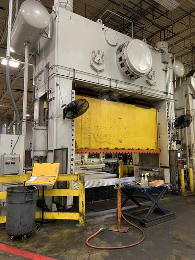 "2000 ton Danly 172""x60"" SSDC Stamping Press"