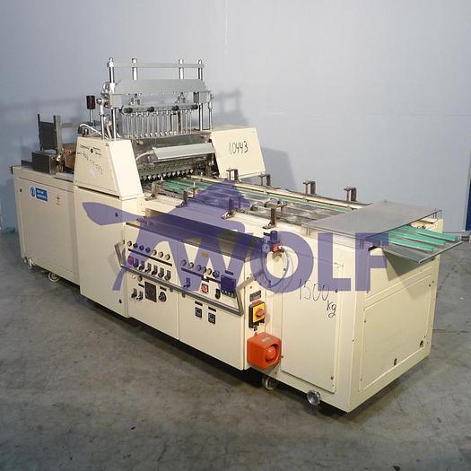 Gebraucht Schokoladen-Gießanlage SOLLICH KG-620