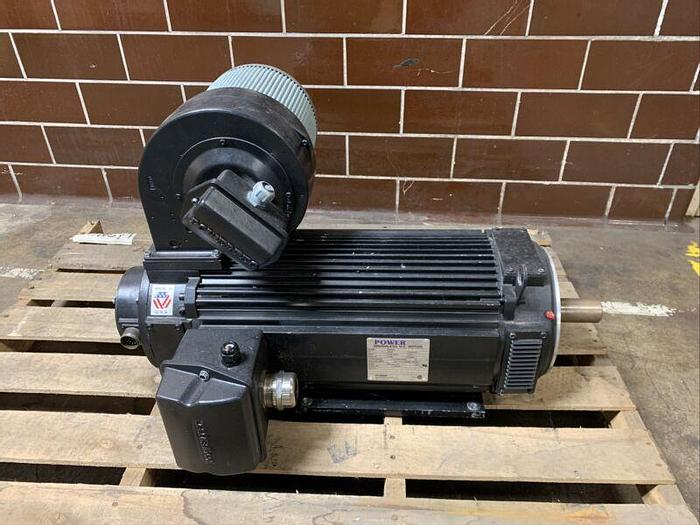 Used POWERTEC 75 HP Brushless DC Motor F219A2J1N96191