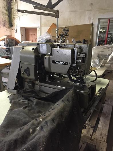 Gebraucht KnopflochmaschineBROTHER  LH4-B814-4