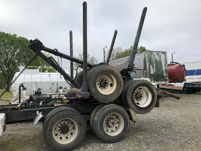 1990 SHOP BUILT LOGGING POLE TRAILER