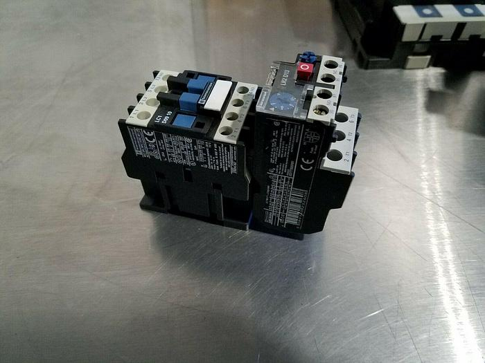 Used Telemecanique Contactor and Thermal Overload Relay LR2 D1314 ships Free