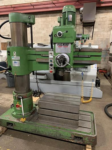 Used 4' ARM, KAO-MING, RADIAL ARM DRILL