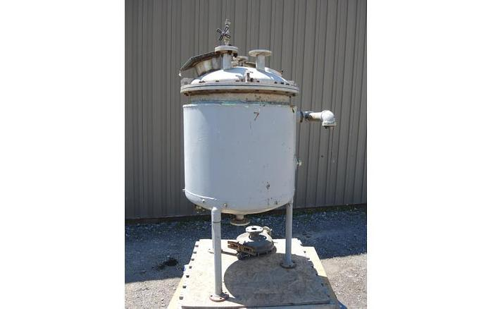 USED 90 GALLON JACKETED TANK, STAINLESS STEEL