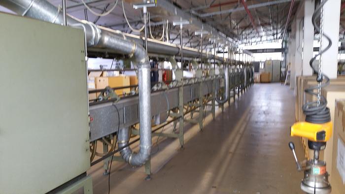 Gebraucht Hohlspindel-Effektzwirnmaschine für Glasfaser SAURER ALLMA ESPG - 60 Spindeln