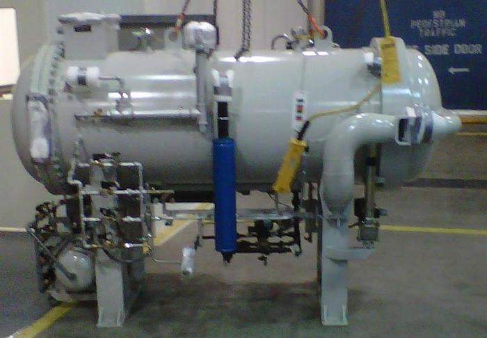 Used TARICCO Autoclave System Model EcoClave EC 3X5