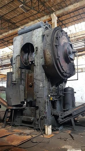 2500 Ton Hot Forging press SMERAL MKP 2500