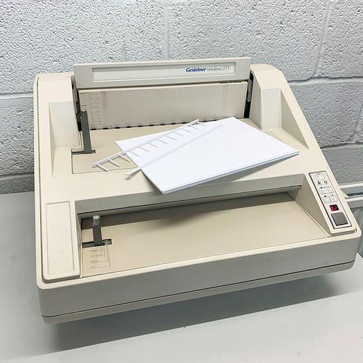 Used Pre-used Gestetner 373 / GBC Velobind System-3 Strip Binder Machine