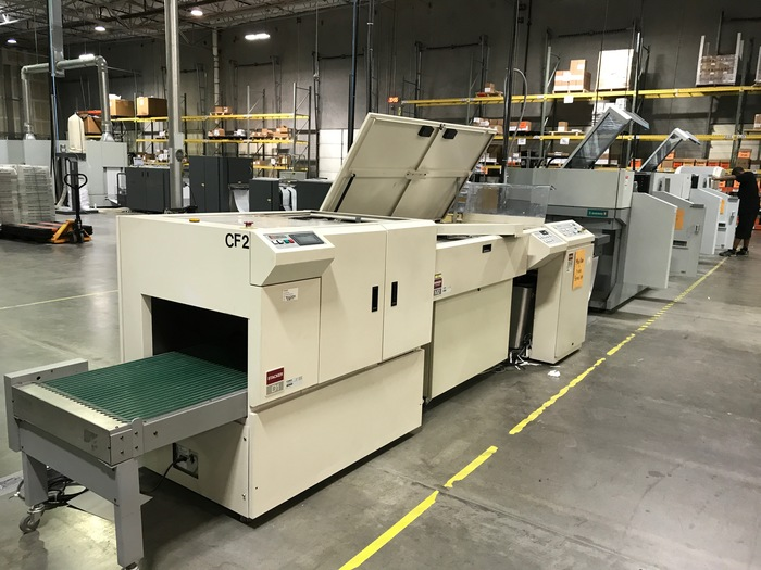 Oce / Roll Systems (RSI) Oce Variostream 7550 TWIN Printing System (Pinfeed / Pinless) - RSI Roll to Cut/Stack