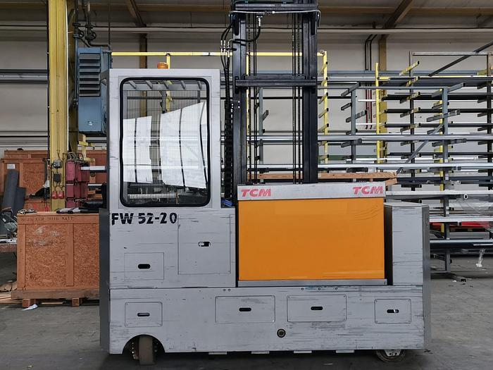2012 Elektro Gabelstapler Seitenstapler TCM 52-20