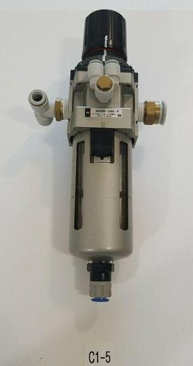 Used *PREOWNED* SMC AW4000-04BC-R Pressure Filter Regulator 0.05~0.85MPa