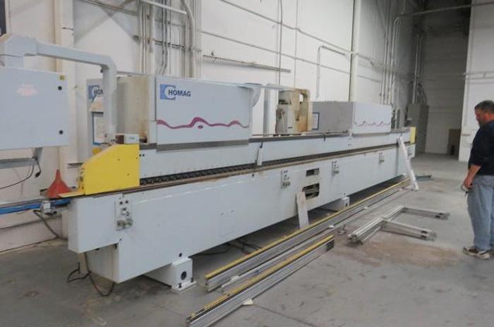 Used Homag KL 79/E12 Optimat CNC Edge Bander