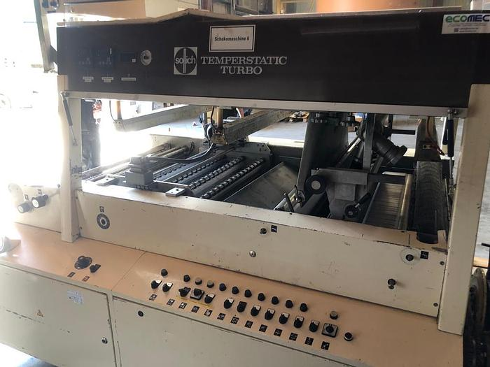 Used Sollich TTS1000 chocolate enrober