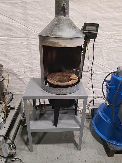 Used Melting Furnace with Hood