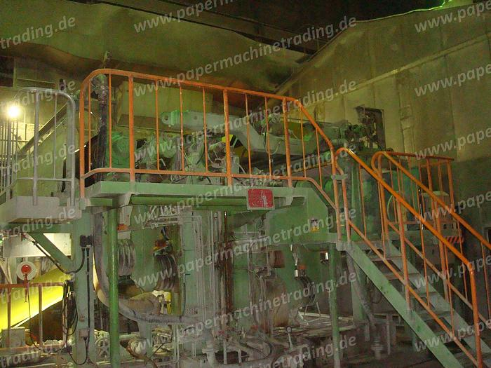 (PM2-86) - Paper Machine for Newsprint, Book and Printing Paper, Gapformer - Mitsubishi - 3350mm