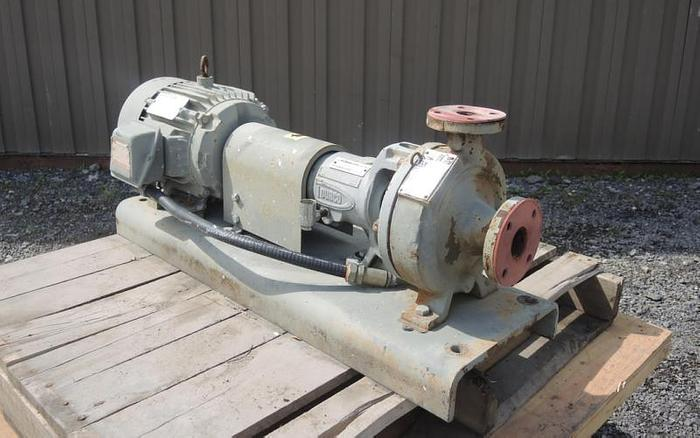"USED CENTRIFUGAL PUMP, 1.5"" X 1"" INLET & OUTLET, DCI"