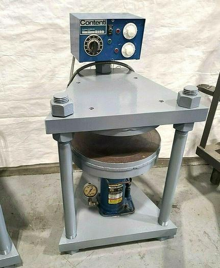 """Used Contenti 12"""" Rubber Mold Vulcanizer Make Spin Cast Molds Fishing Tackle"""